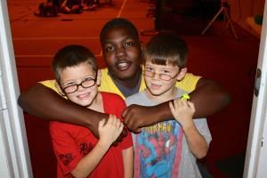 Justin, Skylar, and David